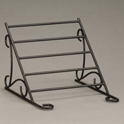 "American Metalcraft Wrought Iron 29-3/4""W Buffet System Frame - Display Risers"