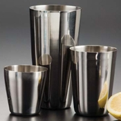 American Metalcraft 8 oz. Short Cocktail Shaker - Cocktail Shakers