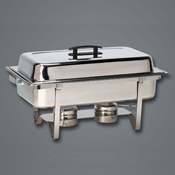 American Metalcraft 8 qt Ensemble Rectangular Chafer - American Metalcraft