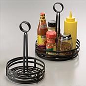 "American Metalcraft 6-1/4"" Dia. Flat Coil Condiment Basket - American Metalcraft"