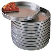 "American Metalcraft 13"" Heavy Aluminum 5100 Series Pan 1.5"" Deep with Straight Side - American Metalcraft"