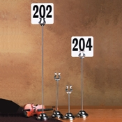 """American Metalcraft 18"""" Musical Number Stand - American Metalcraft"""