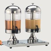 American Metalcraft (2) 8-1/2 qt Juice Dispensers - American Metalcraft