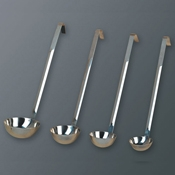 American Metalcraft 1 oz. Two Piece Syrup Ladle - Dippers and Ladles