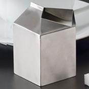 American Metalcraft 5 oz Milk Carton Creamer - American Metalcraft