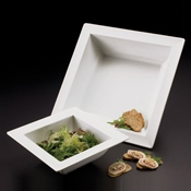 American Metalcraft 223 oz Melamine Bowl with Square Lip - American Metalcraft