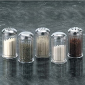American Metalcraft Extra Jar for Plastic Fluted Shakers - American Metalcraft
