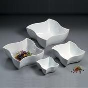 American Metalcraft 25 oz Porcelain Squavy Bowl - American Metalcraft