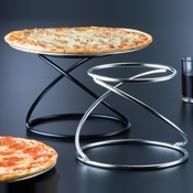 American Metalcraft Contempo Swirl Pizza Stands - Pizza Stands