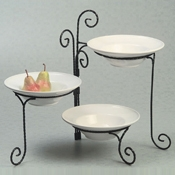 American Metalcraft 3-Tier Twisted Stand - Display Risers