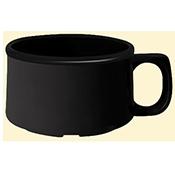 G.E.T. Black 11 oz Bake & Brew Mugs - Plastic Tumblers