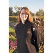 BVT-Chef Revival (LJ025BK-XS) X-Sm Blk QC Lite Poly-Cotton Ladies Cuisinier Jacket - BVT-Chef Revival