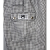 BVT-Chef Revival (P023HT-S) Small Checked Cargo Pants - BVT-Chef Revival