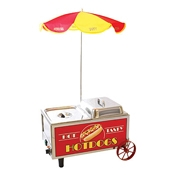 Benchmark USA 60072 Hotdog Mini Cart - Hot Dog Equipment and Supplies