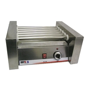 Benchmark USA 62010 10 Dog Roller Grill - Hot Dog Equipment and Supplies