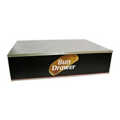 Benchmark USA 65030 Dry Bun Box for 30 Dog Roller Grill - Hot Dog Equipment and Supplies