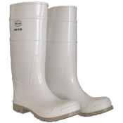 Boss White PVC Deck-Lock Boots - Gloves and Boots