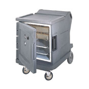 Cambro Low Hot/Cold Fahrenheit Camtherm Cabinet w/Security - Insulated Half Size Holding Cabinets