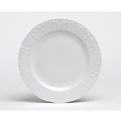 Tuxton CHA-104 Chicago Plates - Dinner Plates