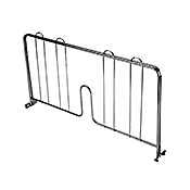 "Economy Wire Shelving Chrome 24"" Shelf Divider"