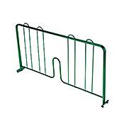 """Economy Wire Shelving Green Epoxy 24"""" Shelf Divider"""