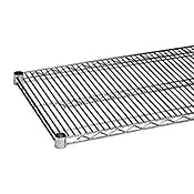 "Economy 14"" x 36"" Chrome Wire Shelf"