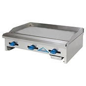Comstock EG36 Griddle - Countertop Gas Commercial Griddles