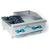 Comstock FHP30-18 Hotplate/Griddle - Countertop Gas Commercial Griddles