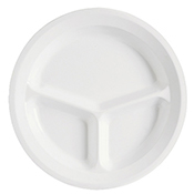 "G.E.T. Supermel 11"" 3-Compartment Plates - Dinner Plates"