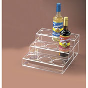 Cal-Mil 3 Tier Bottle Organizer - Display Risers