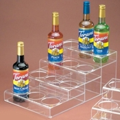Cal-Mil 4 Tier Bottle Organizer - Display Risers
