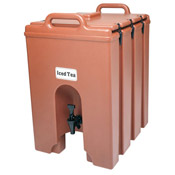 Cambro 10 Gallon Plastic Latch Camtainer - Beverage Carriers