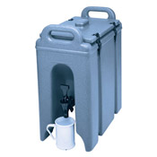 Cambro 2-1/2 Gallon Metal Latch Camtainer - Beverage Carriers
