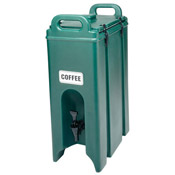 Cambro 500LCD 5 Gallon Plastic Latch Camtainer - Beverage Carriers