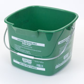Carlisle 8 Qt Green Suds-Pail - Buckets and Pails