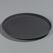 "Carlisle 16.44"" Round Tan Trays - Serving Trays"