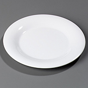 "Carlisle 12"" Dinner Plate Wide Rim - Dinner Plates"