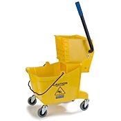 Carlisle Mop Bucket Wringer Combo 26 qt - Carlisle