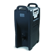 Carlisle IT50003 5 Gallon Black Beverage Dispenser - Beverage Carriers