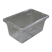 "Carlisle 10612 5 Gallon PC 12"" x 18"" x 9"" Food Box"