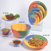 "G.E.T. 10.5"" Wide Rim Plates  - Dinner Plates"