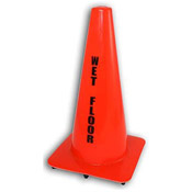Continental Orange Wet Floor Caution Cone - Continental