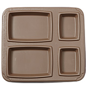 Cook's Insulated Grizzly Meal Trays (Brown)