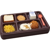 Cook's Insulated Titan Meal Tray (Brown)