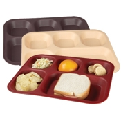 Cook's 630-420B Five Compartment Trays - Cook's Brand