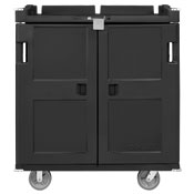 Cook's Rhino Tray Delivery Cart Charcoal Grey