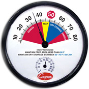 Cooper Dry Storage/Prep-Area Thermometer - Specialty Thermometers