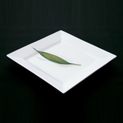 "Culinaire 7-1/2"" Square Ceramic Plate - Dinner Plates"