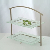 Culinaire Concierge 2 Tier Table Top Riser with Arched Top - Display Risers