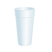 Dart 24 oz. Foam Cups - Disposable Cups & Lids